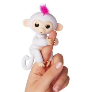 fingerlings singe blanc sophie