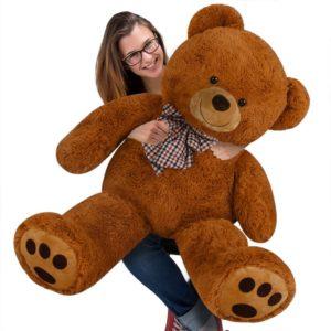 Nounours peluche ours géant XL Teddy Bear brun 2