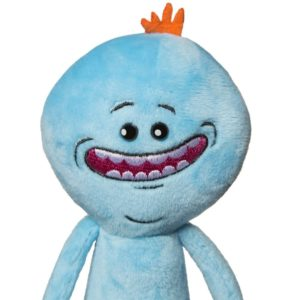Peluche rick et morty Mr meeseek