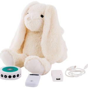 Prince Lionheart - Tummy Sleep Doudou Lapin bruit blanc