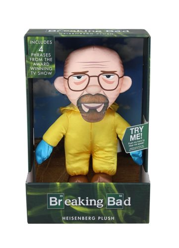 breaking bad heisenberg walter white peluche parlante