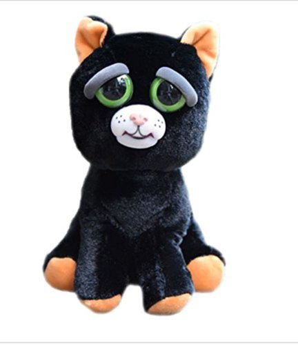 feisty cat peluche chat grincheux