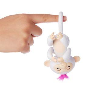 fingerlings singe blanc sophie