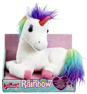 rainbow licorne coloree animagic