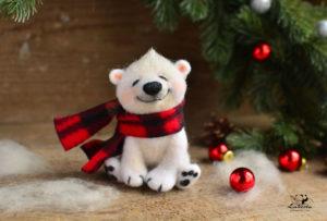ours en peluche blanc