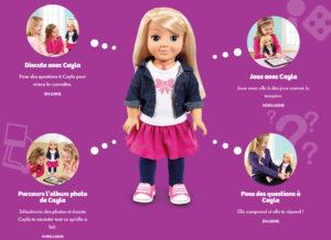 poupée cayla jouet connecté