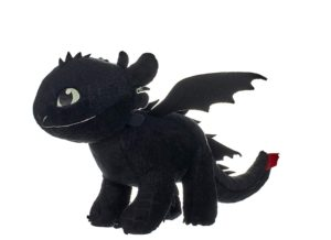 peluche dragon 3 sans dents